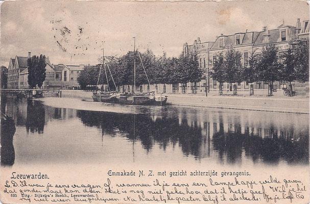 Ansichtkaart Gevangenis Leeuwarden A0102-a