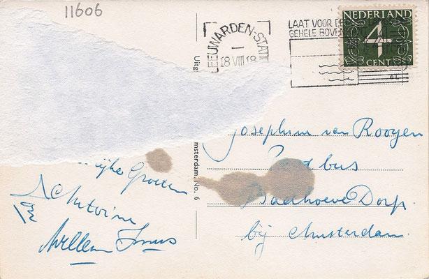 Ansichtkaart Gevangenis Leeuwarden A0038-b