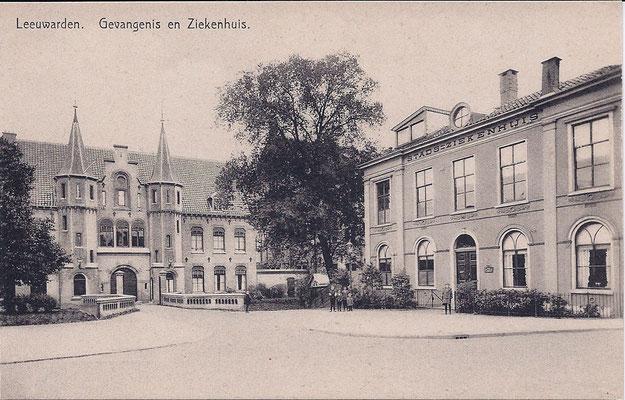 Ansichtkaart Gevangenis Leeuwarden DA0049-a