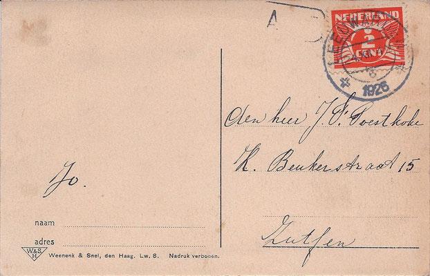 Ansichtkaart Gevangenis Leeuwarden A0099-b