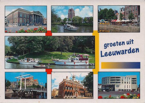 Ansichtkaart Gevangenis Leeuwarden A0080-a