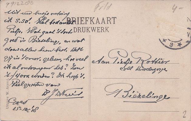 Ansichtkaart Gevangenis Leeuwarden A0098-b