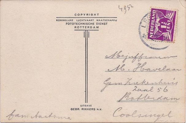 Ansichtkaart Gevangenis Leeuwarden A0123-b