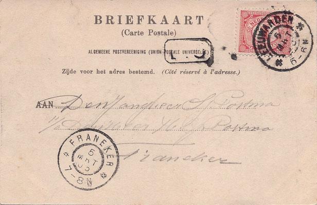 Ansichtkaart Gevangenis Leeuwarden A0064-b