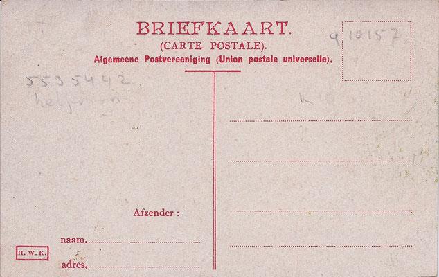 Ansichtkaart Gevangenis Leeuwarden DA0007-a