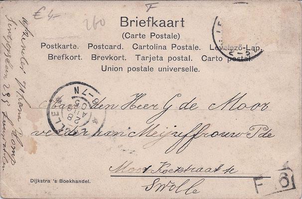 Ansichtkaart Gevangenis Leeuwarden A0073-b