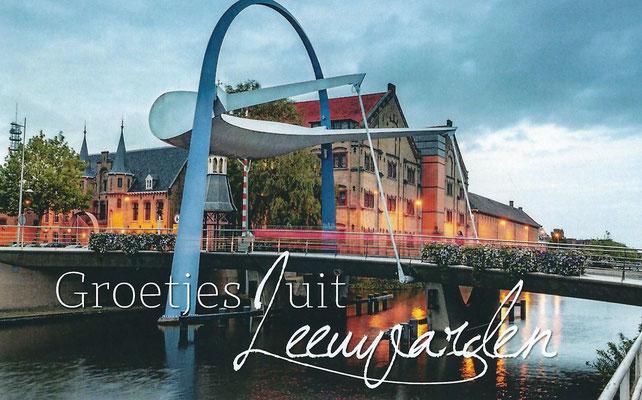 Ansichtkaart Gevangenis Leeuwarden A0146-a