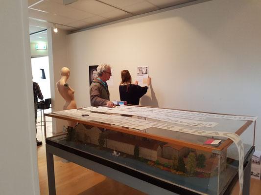 Maquette op reis 20 februari 2017 Museum Heerenveen