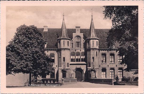 Ansichtkaart Gevangenis Leeuwarden A0019-a