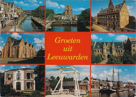Ansichtkaart Gevangenis Leeuwarden A0081-a