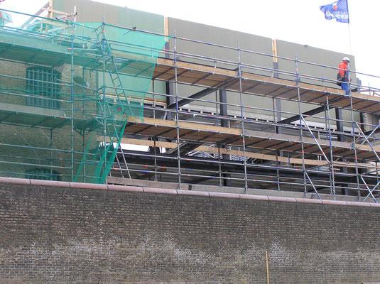 Verbouwing mei 2017 Blokhuispoort