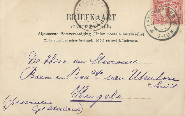 Ansichtkaart Gevangenis Leeuwarden A0141-b