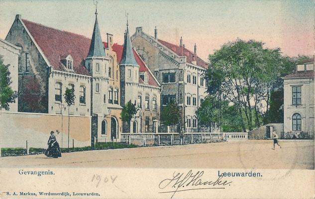 Ansichtkaart Gevangenis Leeuwarden A0142-a