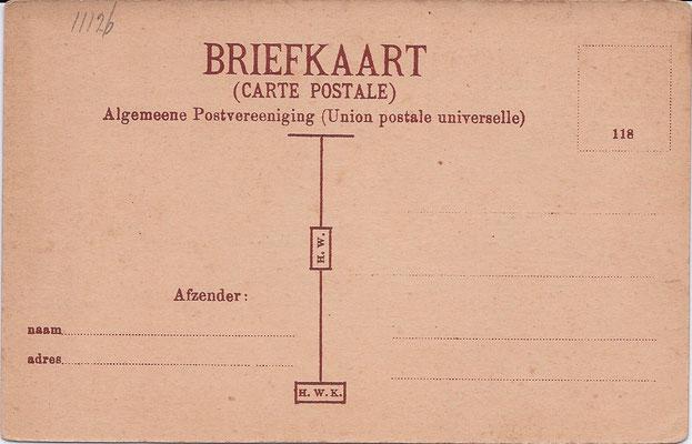 Ansichtkaart Gevangenis Leeuwarden A0050-b