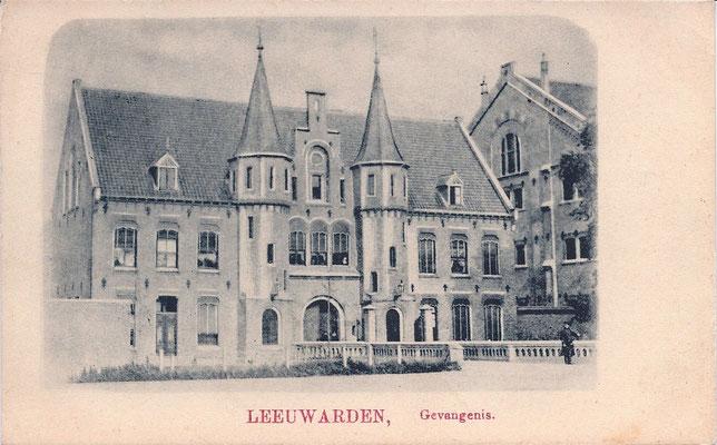 Ansichtkaart Gevangenis Leeuwarden A0109-a