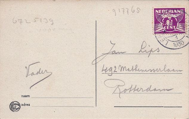 Ansichtkaart Gevangenis Leeuwarden A0042-b