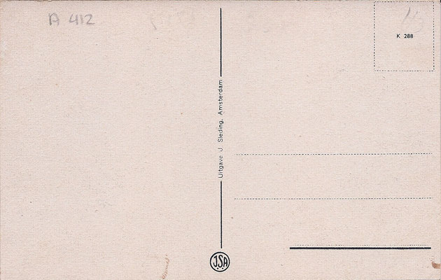 Ansichtkaart Gevangenis Leeuwarden A0018-b