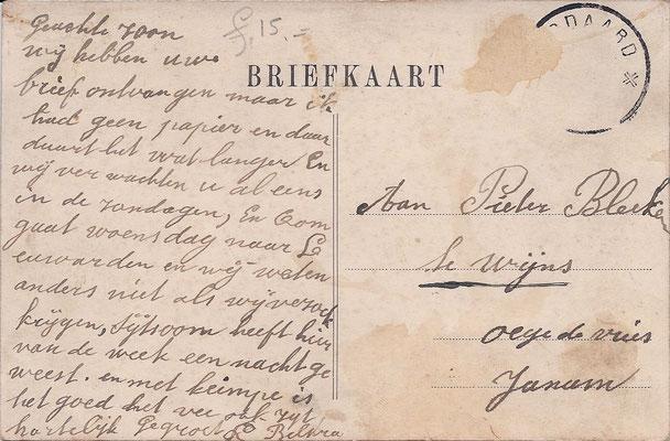 Ansichtkaart Gevangenis Leeuwarden A0068-b