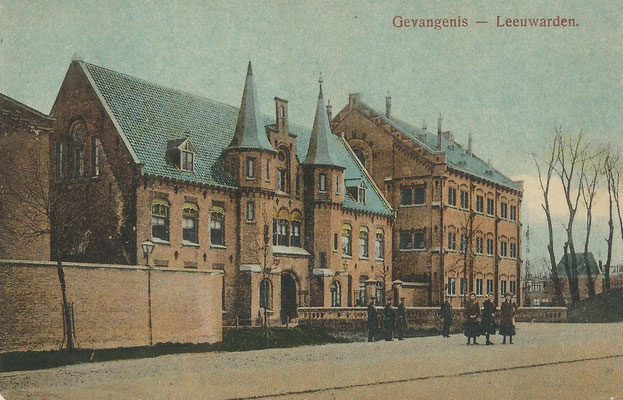 Ansichtkaart Gevangenis Leeuwarden A0057-a