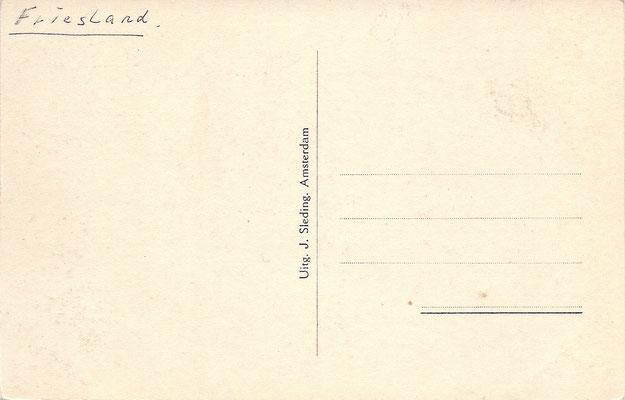 Ansichtkaart Gevangenis Leeuwarden A0014-b