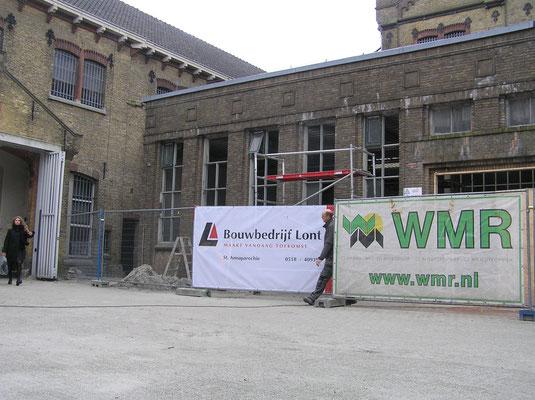 Sloop en verbouw Blokhuispoort oktober 2015