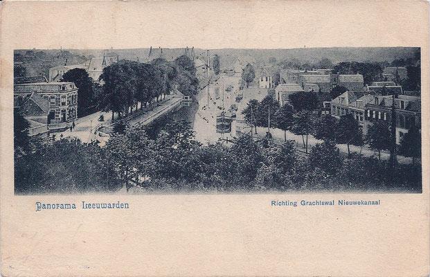 Ansichtkaart Gevangenis Leeuwarden A0053-a