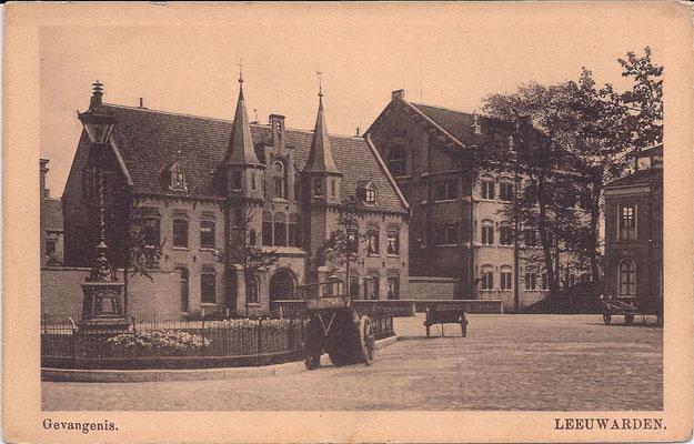 Ansichtkaart Gevangenis Leeuwarden DA0044-a
