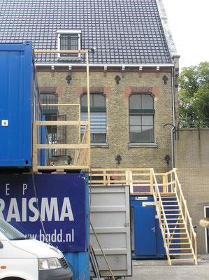 Verbouwing Blokhuispoort augustus 2016
