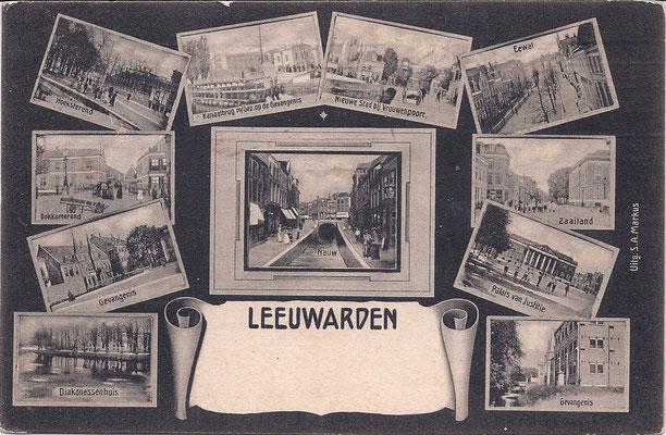 Ansichtkaart Gevangenis Leeuwarden DA0072-a