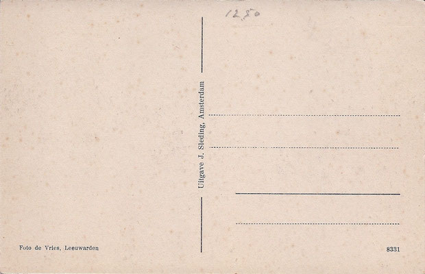 Ansichtkaart Gevangenis Leeuwarden A0091-b