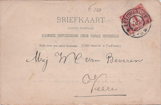 Ansichtkaart Gevangenis Leeuwarden A0058-b