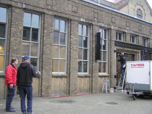 Sloop en verbouw Blokhuispoort december 2015