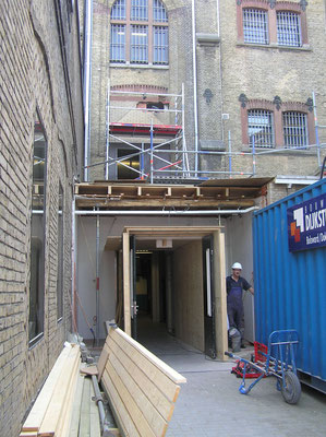 Verbouwing Blokhuispoort september 2016