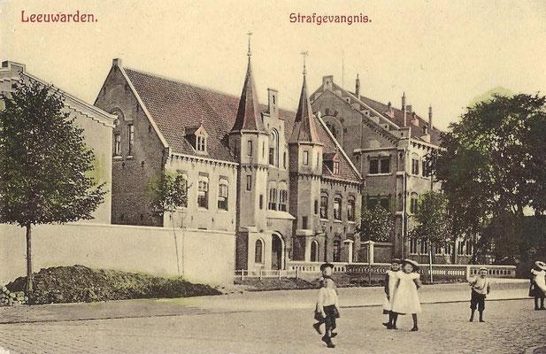 Ansichtkaart Gevangenis Leeuwarden A0151-a