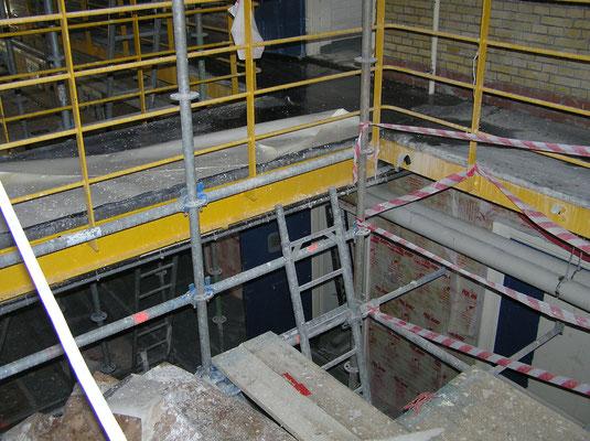 Verbouwing Blokhuispoort maart 2016