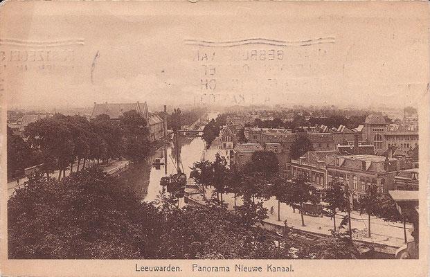 Ansichtkaart Gevangenis Leeuwarden A0041-a