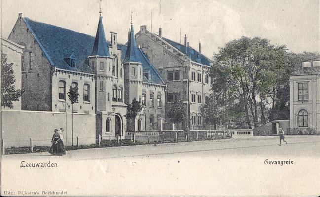 Ansichtkaart Gevangenis Leeuwarden A0129-a