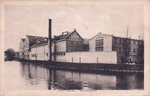 Ansichtkaart Gevangenis Leeuwarden A0059-a