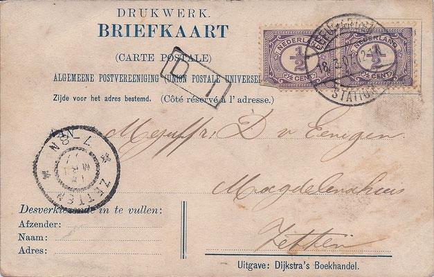Ansichtkaart Gevangenis Leeuwarden A0071-b