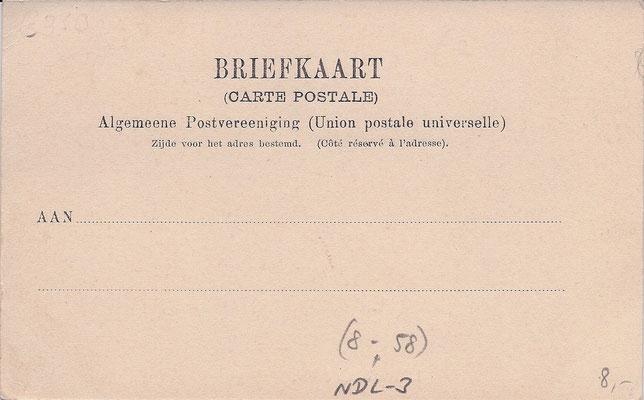 Ansichtkaart Gevangenis Leeuwarden A0109-b