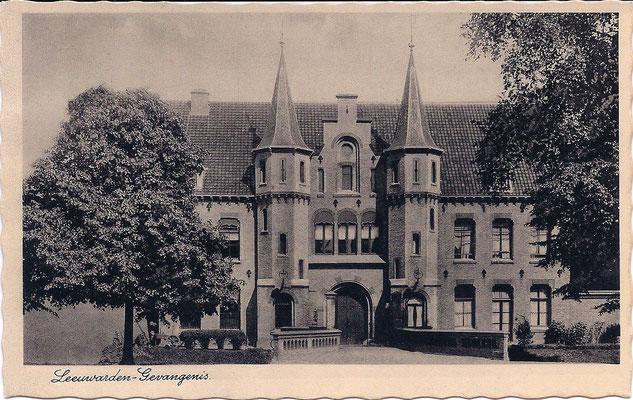 Ansichtkaart Gevangenis Leeuwarden A0016-a