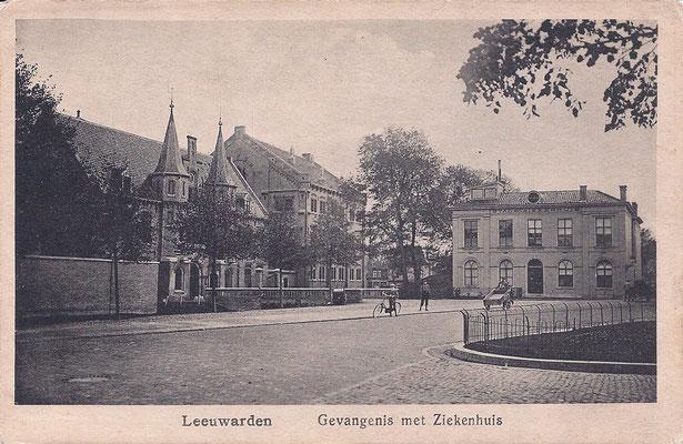 Ansichtkaart Gevangenis Leeuwarden A0036-a