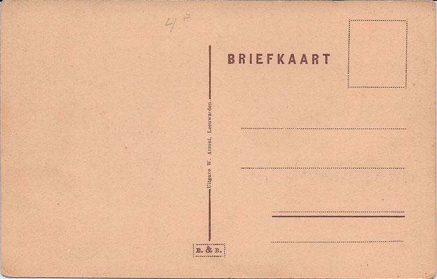 Ansichtkaart Gevangenis Leeuwarden DA0044-b