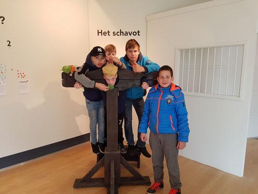 Schandpaal Museum Heerenveen