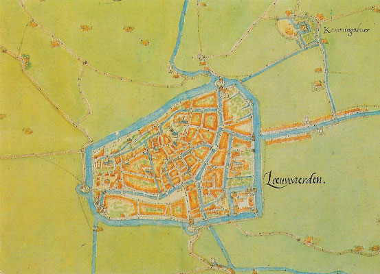 Ansichtkaart Gevangenis Leeuwarden A0149-a