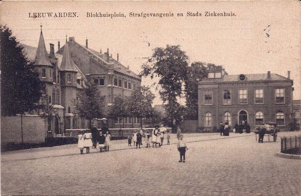 Ansichtkaart Gevangenis Leeuwarden A0117-a