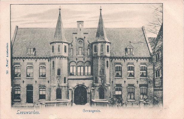 Ansichtkaart Gevangenis Leeuwarden A0011-a