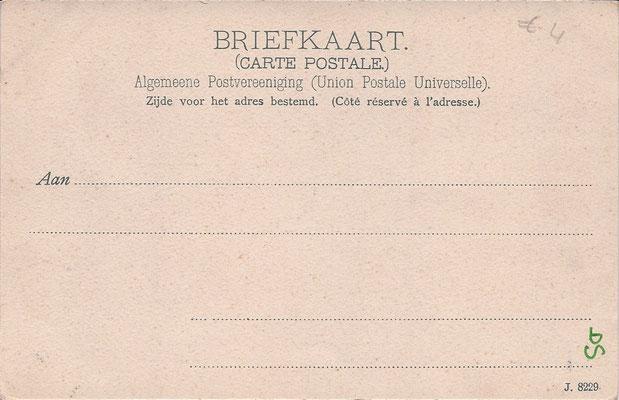 Ansichtkaart Gevangenis Leeuwarden A0088-b
