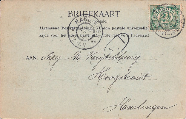 Ansichtkaart Gevangenis Leeuwarden A0022-b