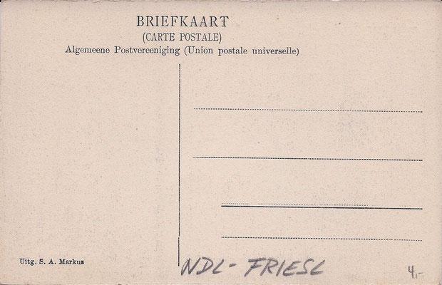 Ansichtkaart Gevangenis Leeuwarden A0055-b